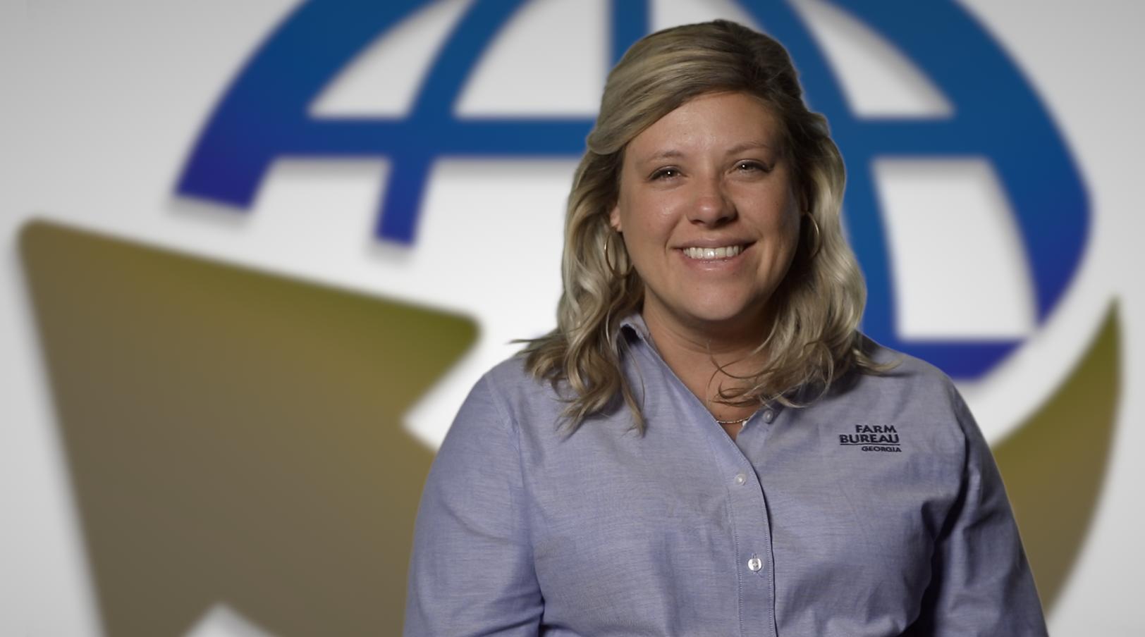 Video Thumbnail for Breanna Berry of the Georgia Farm Bureau, Young Farmers and Ranchers Program
